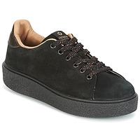 Schuhe Damen Sneaker Low Victoria DEPORTIVO SERRAJE P. NEGRO Schwarz