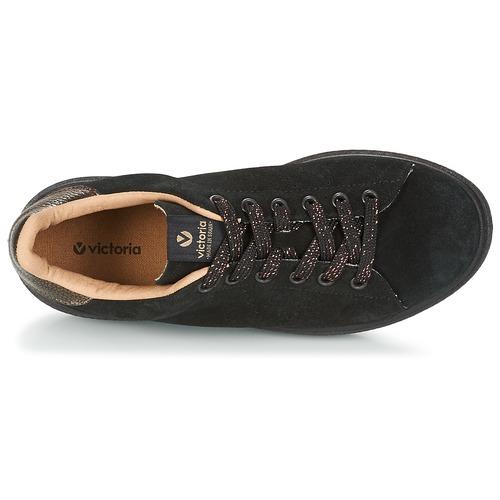 Victoria DEPORTIVO SERRAJE P. NEGRO NEGRO NEGRO Schwarz  Schuhe Sneaker Low Damen 69 70d304