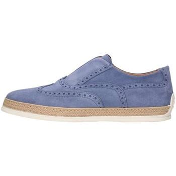 Schuhe Herren Leinen-Pantoletten mit gefloch Triver Flight 997-05 Jeans