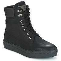 Schuhe Damen Sneaker High Bullboxer GANDIA Schwarz