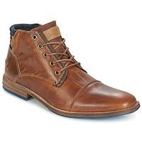 Schuhe Herren Boots Bullboxer MESSI Cognac