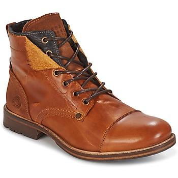 Schuhe Herren Boots Bullboxer BEN Cognac