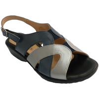 Schuhe Damen Sandalen / Sandaletten Doctor Cutillas Frau Sandale-Tone und sehr komfortabel M Blau