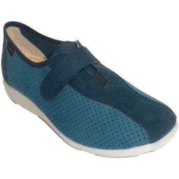 Schuhe Damen Sneaker Low Doctor Cutillas Frau Sportschuh Art durchbrochenen Docto Blau