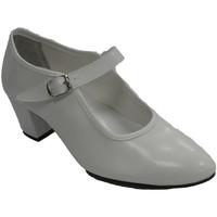Schuhe Damen Ballerinas Danka Sevillian Flamenco Tanzschuh Mädchen ode Weiss