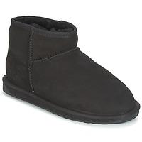 Schuhe Damen Boots EMU STINGER MICRO Schwarz