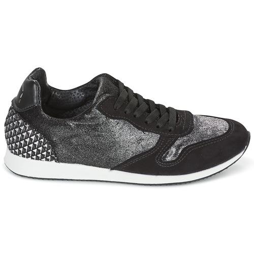Ippon Vintage RUN VELVET Schwarz  Schuhe Sneaker Low Damen 103,20