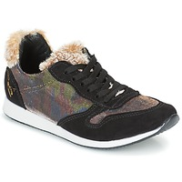 Schuhe Damen Sneaker Low Ippon Vintage RUN SNOW Schwarz / Kupfer