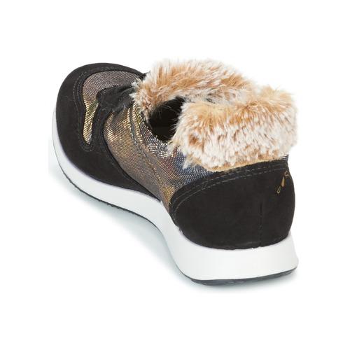 Ippon Vintage RUN SNOW Schwarz / Kupfer  Schuhe Sneaker Low Damen 103,20