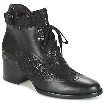 Schuhe Damen Low Boots Mam'Zelle IMAZA Schwarz