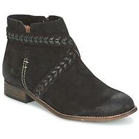 Schuhe Damen Boots MTNG DI Schwarz