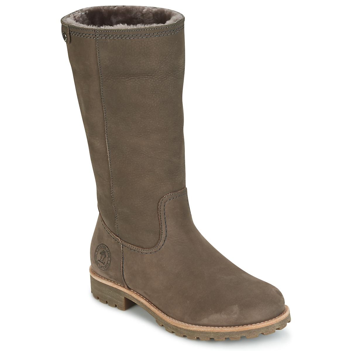 Panama Jack BAMBINA Grau - Kostenloser Versand bei Spartoode ! - Schuhe Klassische Stiefel Damen 215,00 €