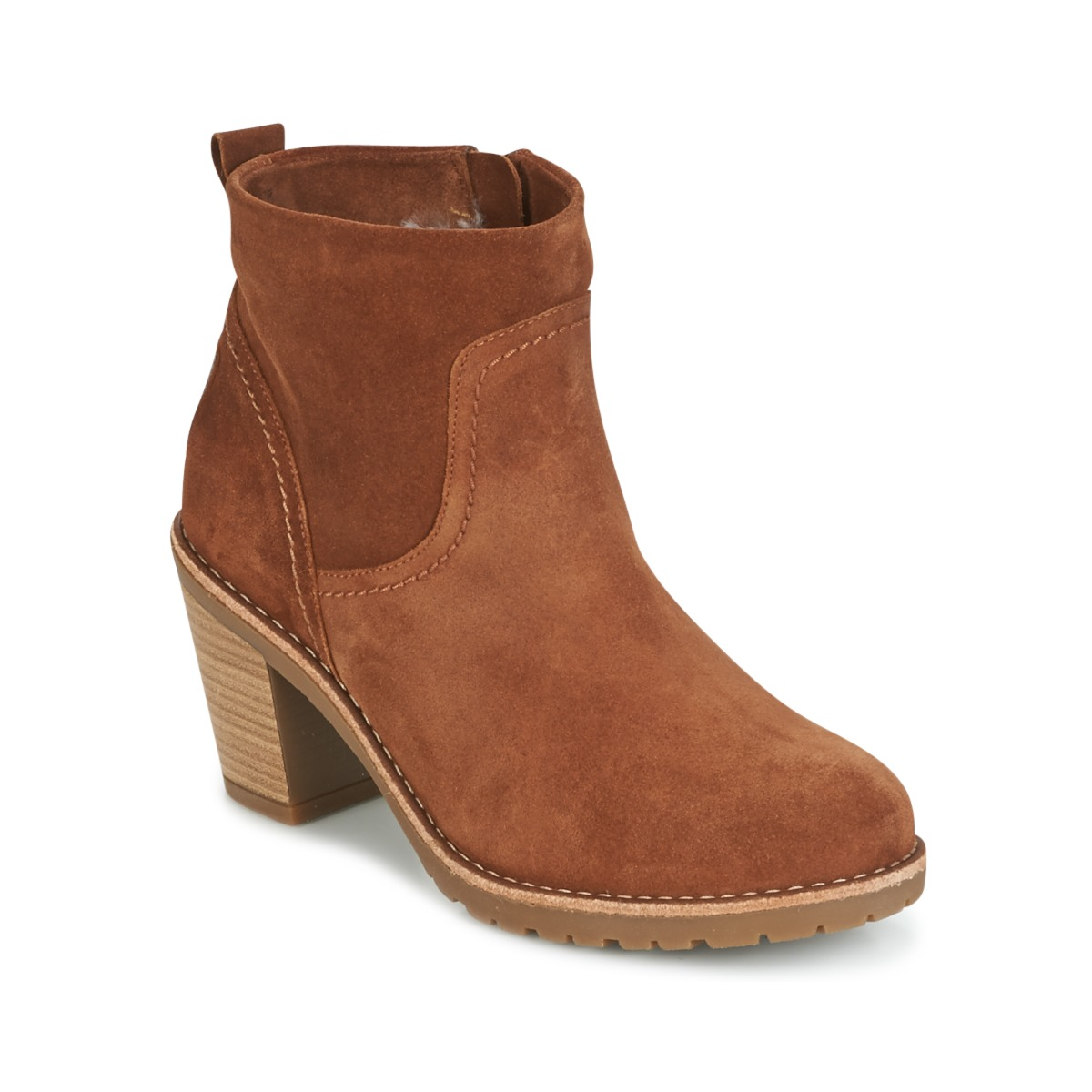 Panama Jack ARLES Braun - Kostenloser Versand bei Spartoode ! - Schuhe Low Boots Damen 122,50 €