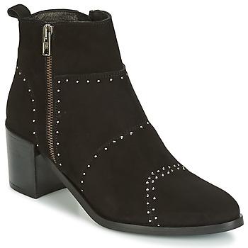 Schuhe Damen Low Boots Regard RAPAGA Schwarz