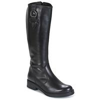 Schuhe Damen Klassische Stiefel Samoa 53245-NERO Schwarz