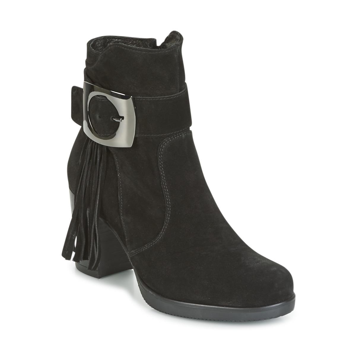 Samoa MARIEL Schwarz - Kostenloser Versand bei Spartoode ! - Schuhe Low Boots Damen 104,30 €