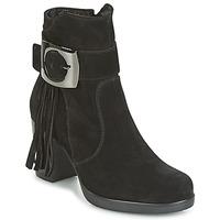 Schuhe Damen Low Boots Samoa MARIEL Schwarz