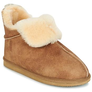 Schuhe Damen Hausschuhe Shepherd DANA Braun