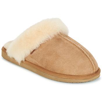 Schuhe Damen Hausschuhe Shepherd JESSICA Braun