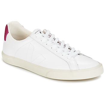 Schuhe Damen Sneaker Low Veja ESPLAR LT Weiss / Magenta