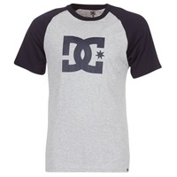 Kleidung Herren T-Shirts DC Shoes STAR RAGLAN SS Schwarz / Grau