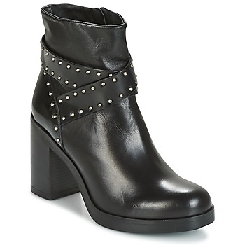Schuhe Damen Low Boots Tosca Blu ST.MORITZ Schwarz