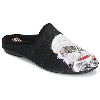 Schuhe Damen Hausschuhe Rondinaud MOSELOTTE Schwarz