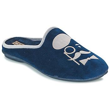 Schuhe Herren Hausschuhe Rondinaud BAYEUX Marine
