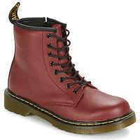 Schuhe Kinder Boots Dr Martens DELANEY Rot / Kirsche