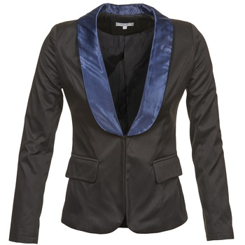 Kleidung Damen Jacken / Blazers Betty London BERTHILLE Schwarz / Marine