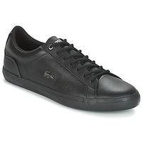 Schuhe Herren Sneaker Low Lacoste LEROND 4 Schwarz / Weiss