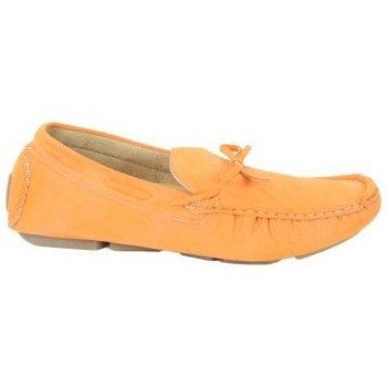 Schuhe Herren Slipper Kebello Mokassin X78003 orange