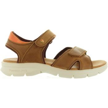 Schuhe Herren Sandalen / Sandaletten Panama Jack SANDERS MINK C1 Marrón