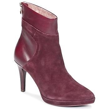 Schuhe Damen Low Boots Tamaris RASALA Bordeaux