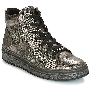 Schuhe Damen Sneaker High Tamaris NAPO Grau