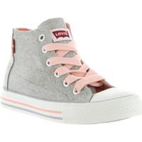 Schuhe Kinder Sneaker Levi's VTRU0007T TRUCKER HI Plateado