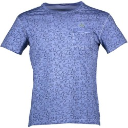 Kleidung Herren T-Shirts Yes Zee T721/TH00 BLAU 0721