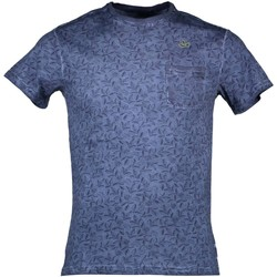 Kleidung Herren T-Shirts Yes Zee T721/TH00 BLAU 0713