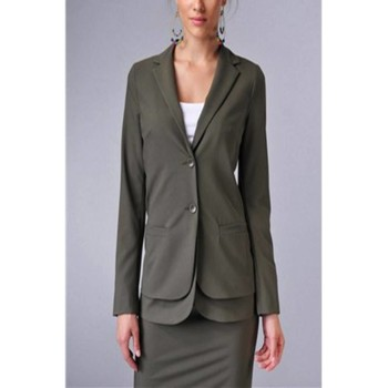 Kleidung Damen Jacken / Blazers Denny Rose 1260 GREEN