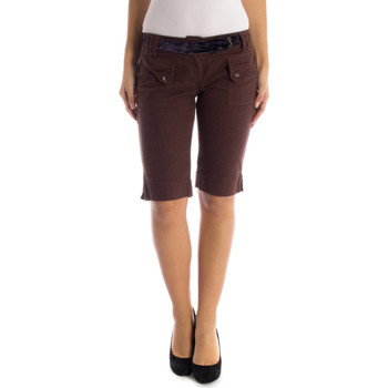 Kleidung Damen Shorts / Bermudas Datch 29W3432 BROWN