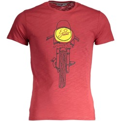 Kleidung Herren T-Shirts Yes Zee T742/Z301 ROT 0571