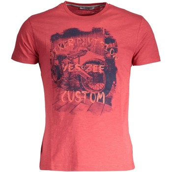 Kleidung Herren T-Shirts Yes Zee T742/Z302 ROT 0571
