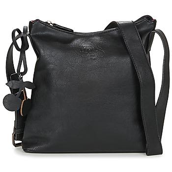 Taschen Damen Umhängetaschen Le Temps des Cerises PHOENIX 7 Schwarz