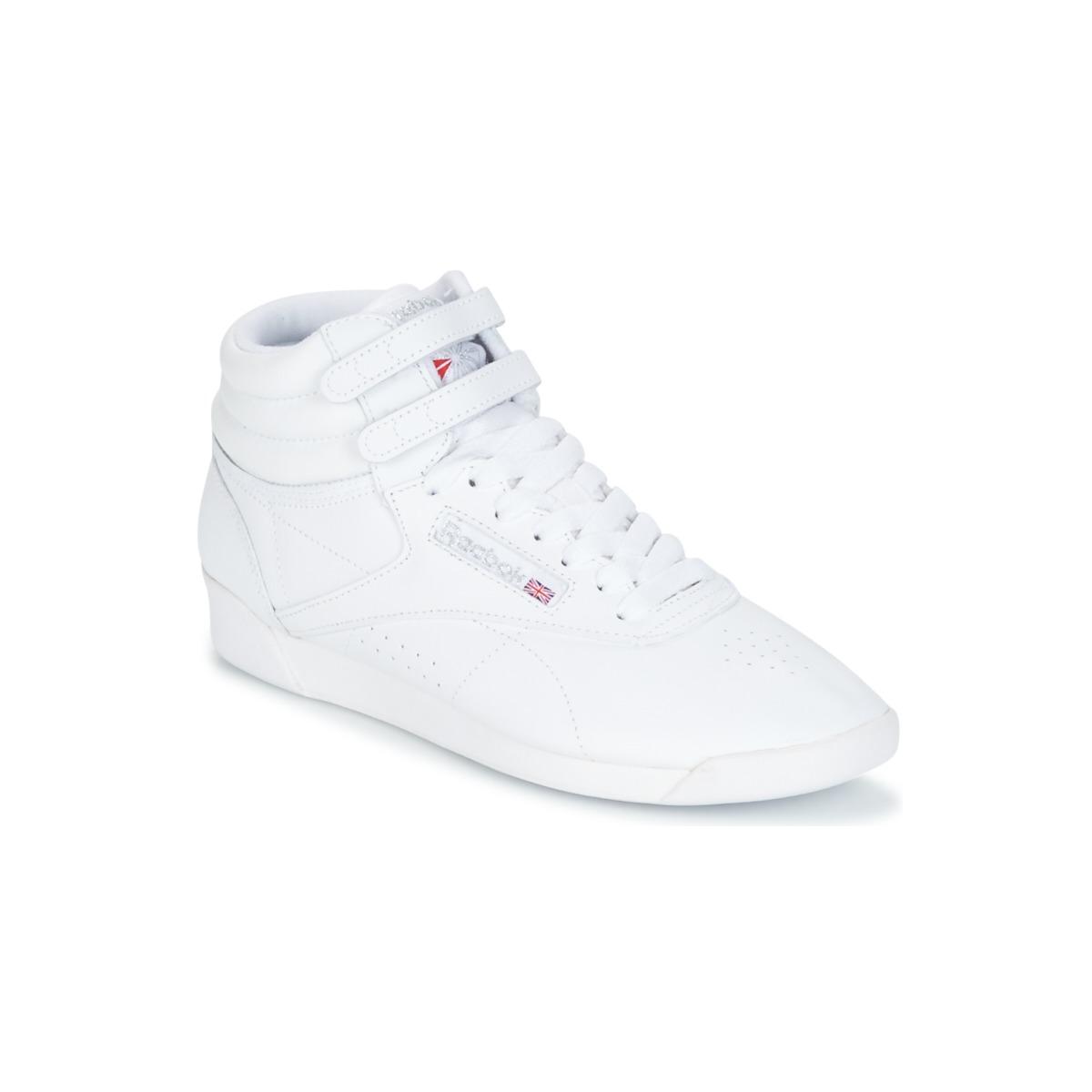 Reebok Classic F/S HI Weiss / Silbern - Kostenloser Versand bei Spartoode ! - Schuhe Sneaker High Damen 71,96 €
