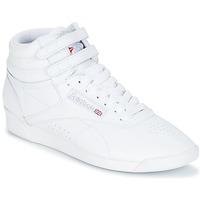 Schuhe Damen Sneaker Low Reebok Classic F/S HI Weiss / Silbern
