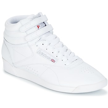 Schuhe Damen Sneaker High Reebok Classic F/S HI Weiss / Silbern