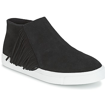 Schuhe Damen Boots Minnetonka GWEN BOOTIE Schwarz