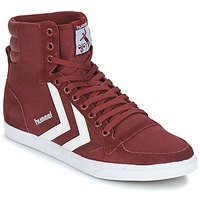 Schuhe Sneaker High Hummel STADIL CANEVAS HIGH Bordeaux
