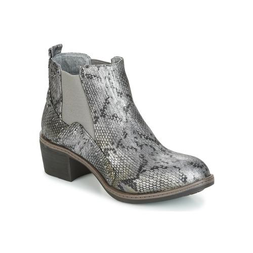 LPB Shoes CAROLE Grau Schuhe Low Boots Damen 45,49