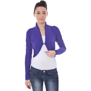 Kleidung Damen Strickjacken Datch B9T5334 violett 6V6